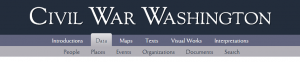 Civil War Washington DC Project