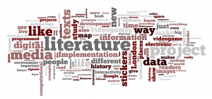Fig. 5. Word Cloud of all my weekly blogs generated by Wordle