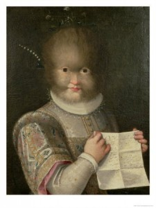 Portrait of a Girl Covered in Hair (1594) by Lavinia Fontana