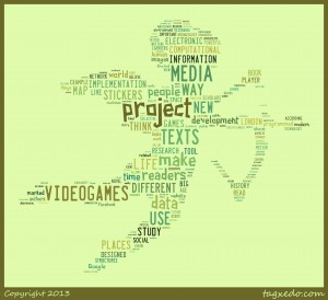 Fig. 6. Word Cloud of all my weekly blogs generated by use of Tagxedo