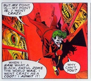 The Killing Joke, Illustrations by Brian Bolland