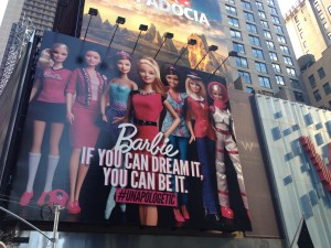 "The ad says ""Barbie: If you can do it, you can be it. #Unapologetic. "" I almost thought it was a joke until I realized that Mattel would've sued by now."