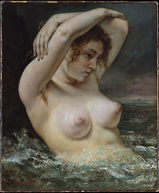 "Courbet's ""The Woman in the Waves"""