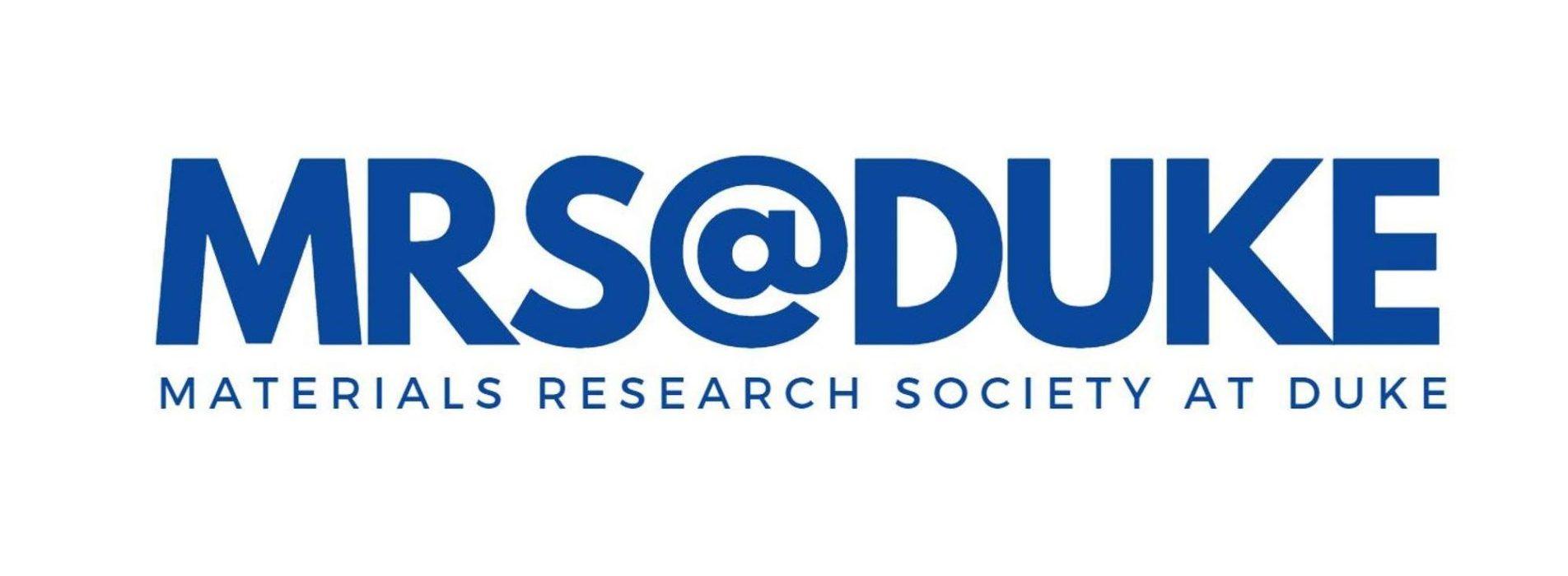 Materials Research Society at Duke