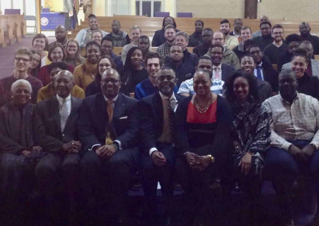 Dr. James A. Forbes Jr.'s class at Saint Joseph's AME Church in Durham.