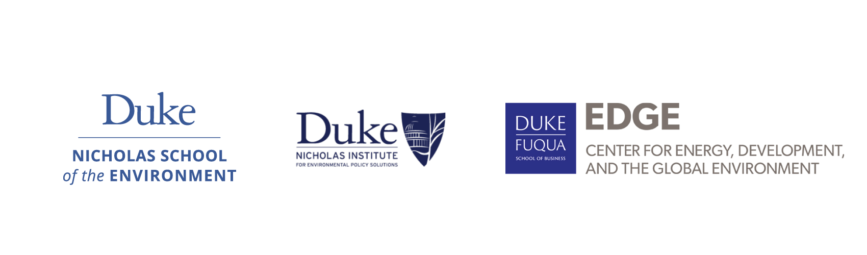 Oceans at Duke partner logos
