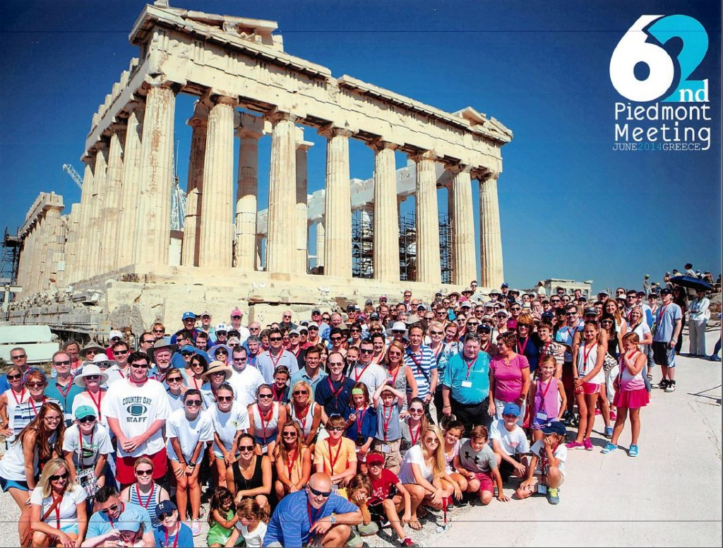 Duke Orthopaedics travels to Greece for their 62nd Annual Piedmont Meeting.
