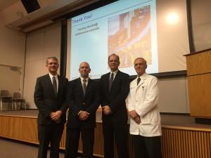 Dr. Ben Alman, Dr. Robert Lark, Dr. Tim Hresko, Dr. Robert Fitch