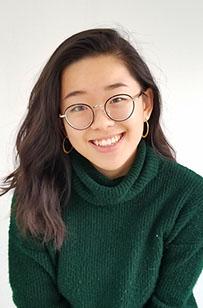 Poss Lab member Grace Shen