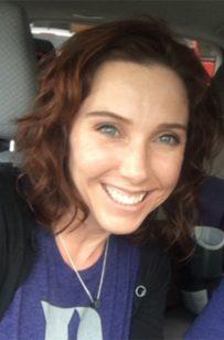 Poss Lab member Amy Jackson