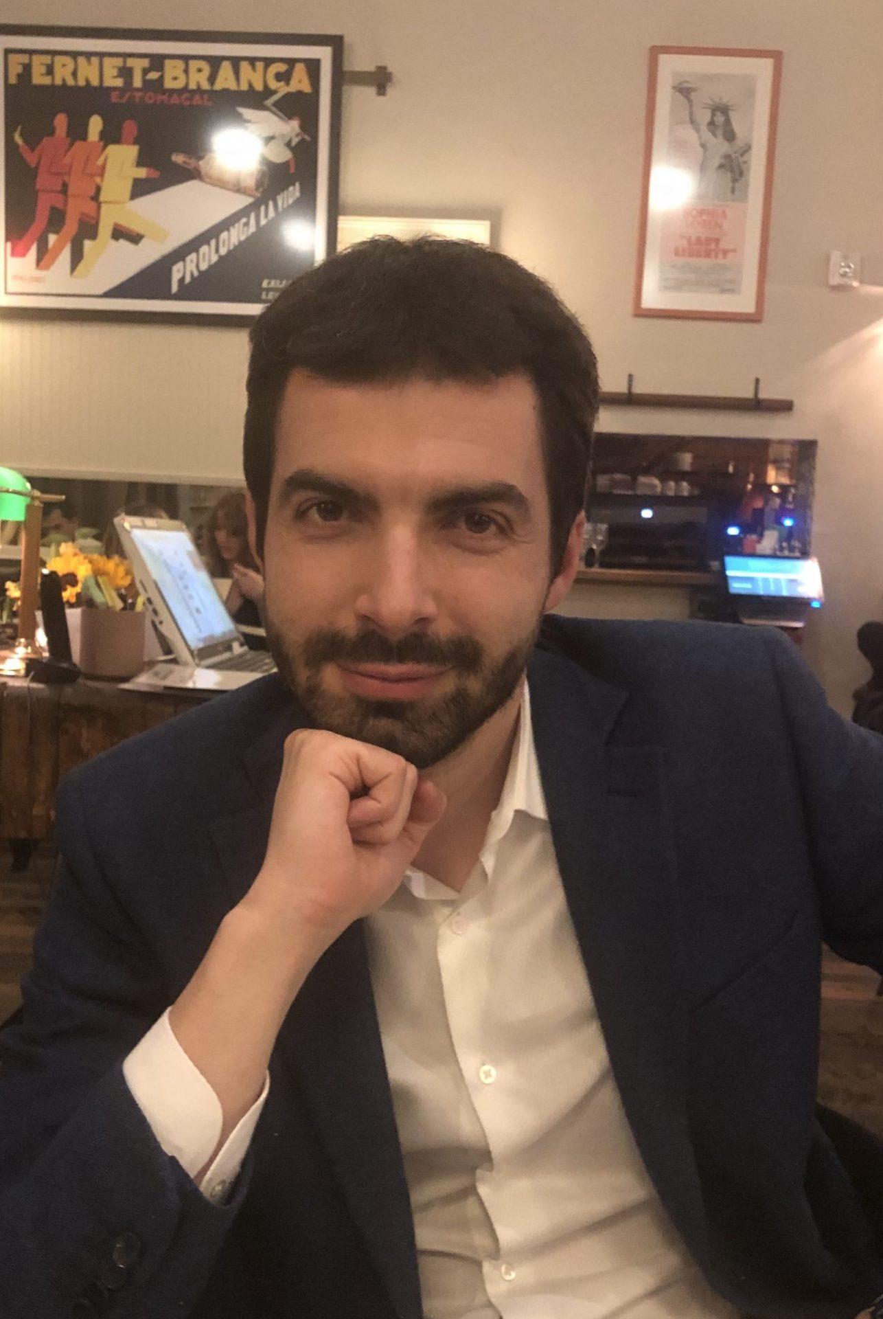Poss Lab member Alessandro DeSimone, PhD
