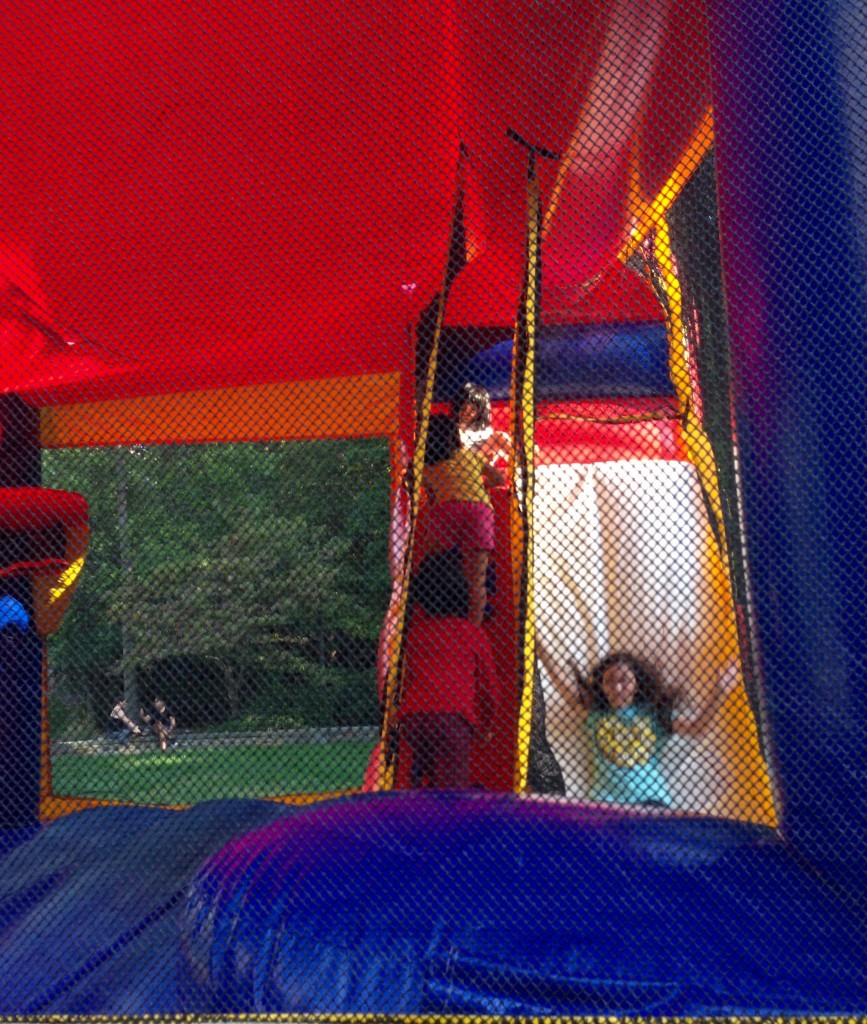 The new and improved bounce castle!
