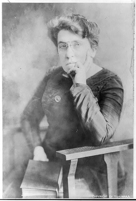 Character bio — Emma Goldman
