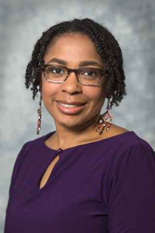 This is a photo of Tiarney Ritchwood, MD, an associate professor in the Department of Family Medicine and Community Health.