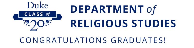 Religious Studies Graduates