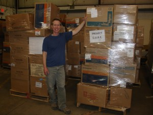 John and his 21 pallets 3-16-13
