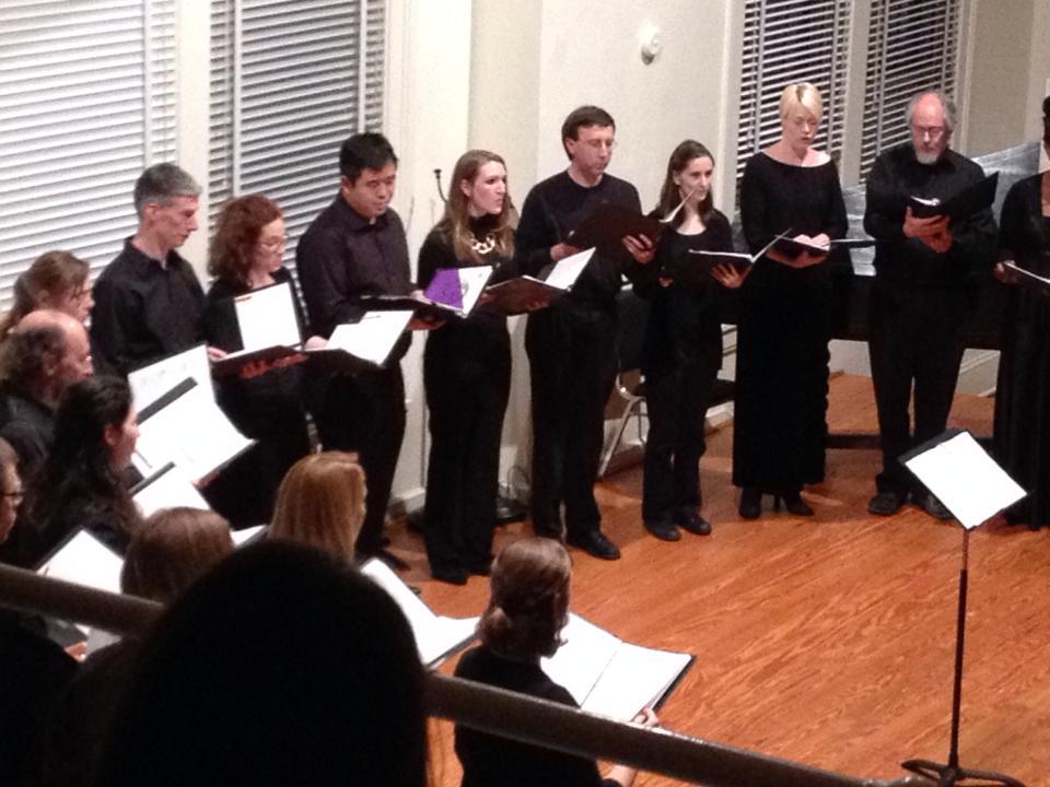 Emily singing a Monteverdi concert at Duke.
