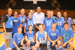 Duke faculty basketball 2014