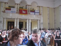 Zita Brauziate and Romans Vanag, Kaunas
