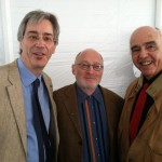 With Aaron Kernis and Yehudi Wyner at the American Academy of Arts & Letters, May 2013