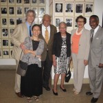 T.J. and Lois Anderson, and Olly and Heloise Wilson, American Academy of Arts and Letters, May 2013