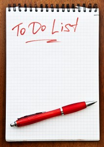 to do list--red