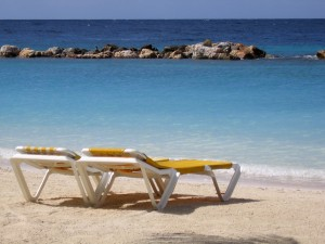 Beach_chairs_Curacao