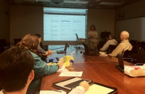 Debrah Suggs, OIT shows off her mad SharePoint skills at a recent Learn IT @ Lunch session!