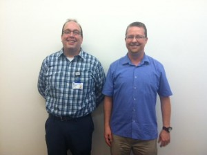 Our presenters: Craig Barber (DHTS Info. Security) and Matt Royal (OIT)