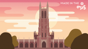 Duke Chapel - Created by Dorothy Feng
