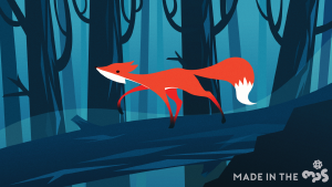 A fox 'unlike' a hundred thousand foxes – Created by Dorothy Feng