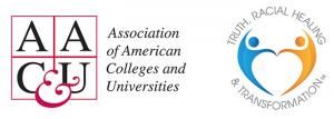 logos for AACU & TRHT