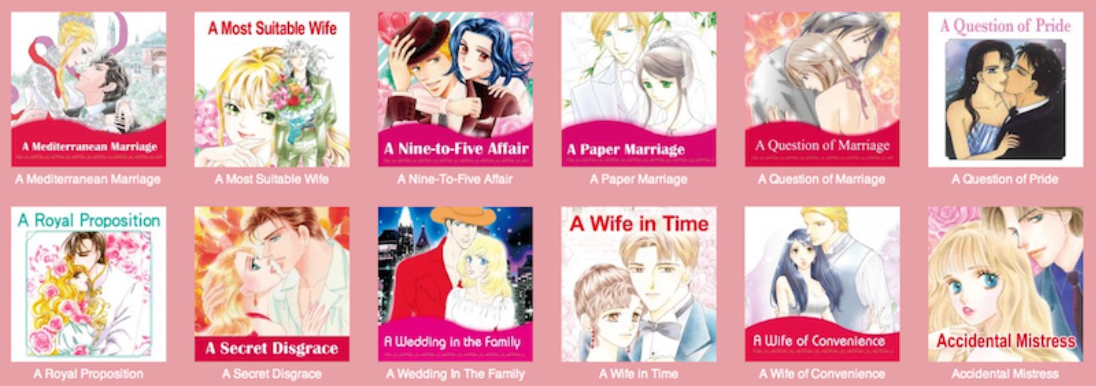 Harlequin Manga Unsuitable
