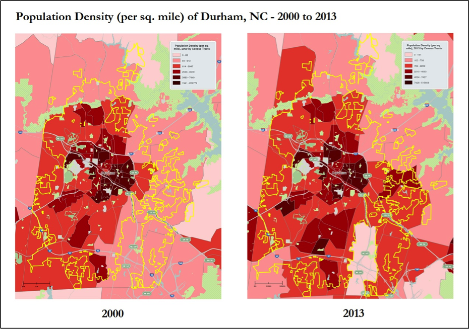 Growth Residential Integration Trends In Bull City Urban Economics