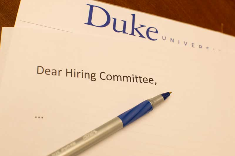 The Art Of The Academic Cover Letter  Versatile Humanists At Duke