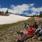 lunch break near Niwat ridge