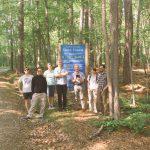 visiting Duke forest