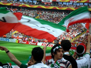 The passion of the Iranian fans