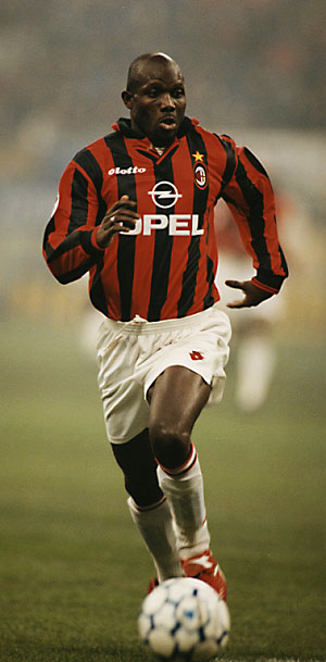 George Weah in Action