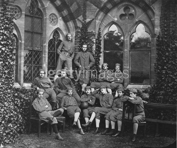 Harrow School Football Team - 1867