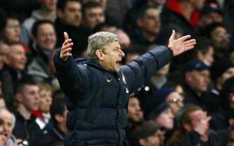 Arsenal manager Arsene Wenger can't believe FIFA wants player quotas (photo courtesy of the Daily Telegraph).