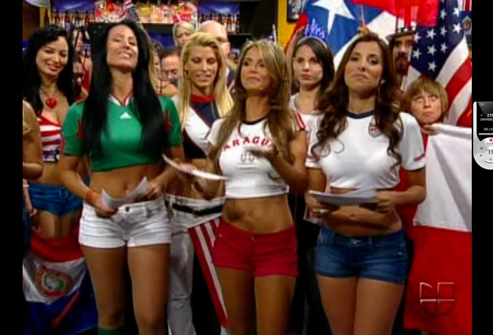 The Bouncing Babes of Univision