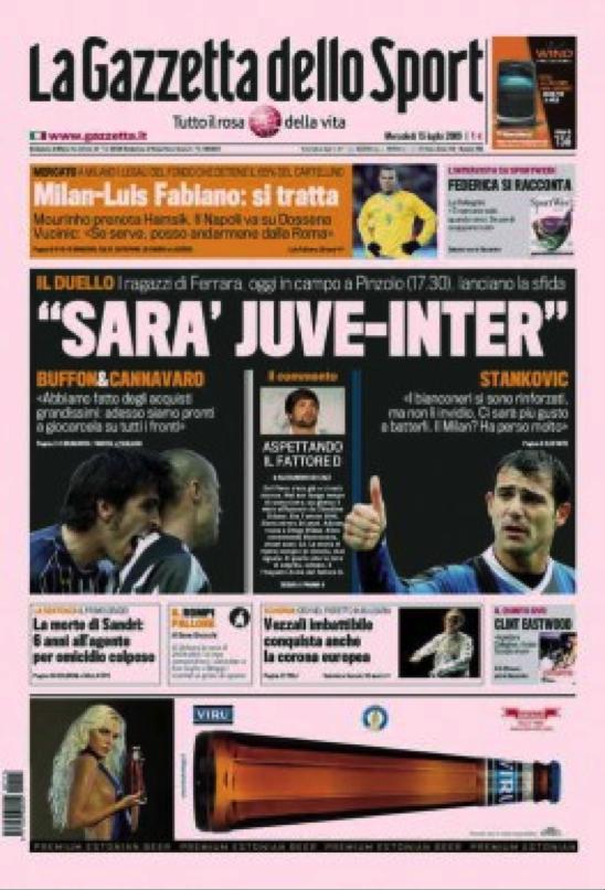 gazzetta dello sport calcio - photo #17
