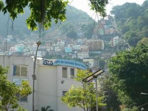 Vista de Favela Santa Marta