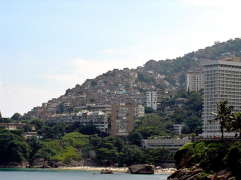 Favela Vidigal Photograph: Jeff Belmonte/Wikimedia