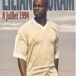 8 juillet 1998, l'autobiographie de Lilian Thuram.