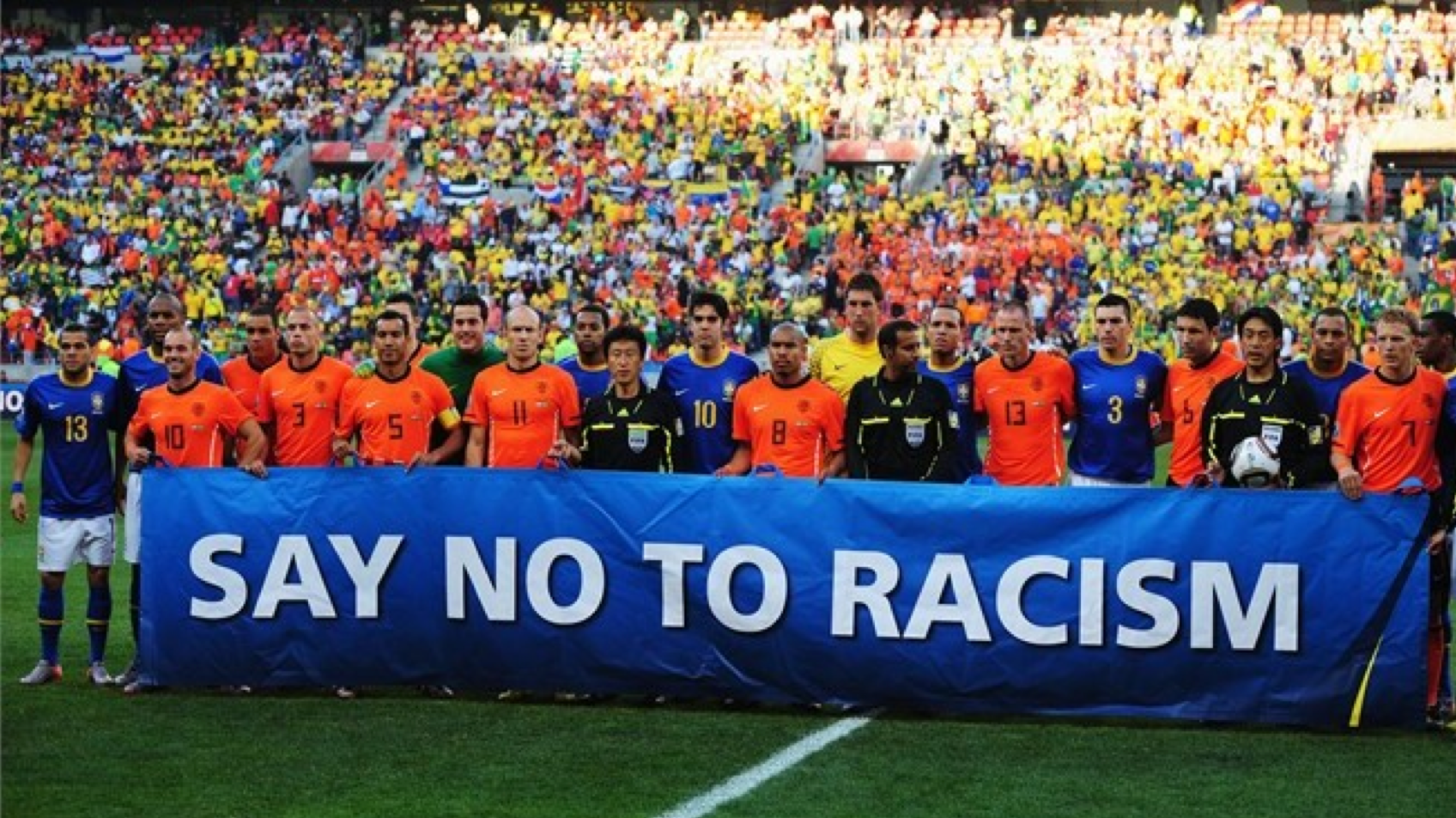 racism in football When we talk about the beautiful game, we generally have in mind the joyful  rhythms of pelé's brazil – but there is more to it than that football.