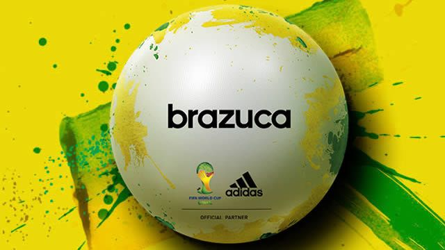Brazuca  Adidas 2014 World Cup Ball Promotional  88806722d9f