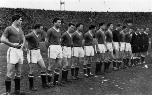 Matt Busby's Babes, the inspirations for the title of the blog (Courtesy of Getty)