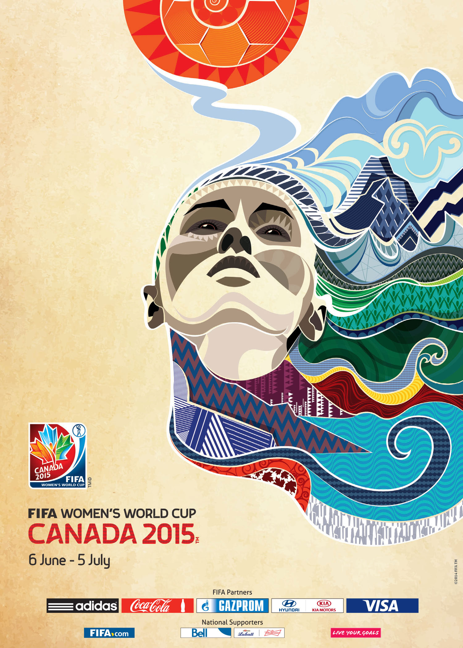 2015 Women's World Cup Poster